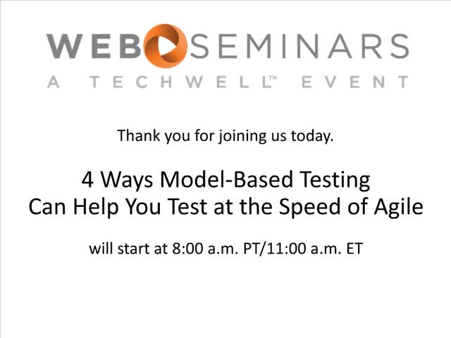 4 Ways Model-Based Testing Can Help You Test at the Speed of Agile