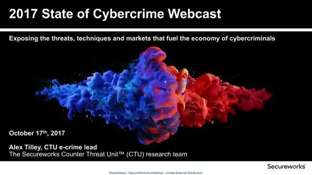 2017 State of Cybercrime