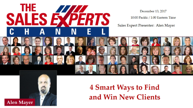 4 Smart Ways to Find and Win New Clients