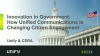 Innovation in Government: How Unified Communications is Changing