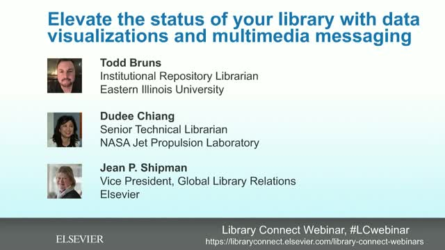 Elevate the status of your library w/ data visualizations & multimedia messaging