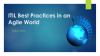ITIL Best Practices in an Agile World