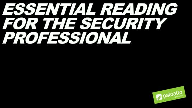 Essential Reading for the Security Professional