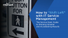 How to Shift Left with IT Service Management