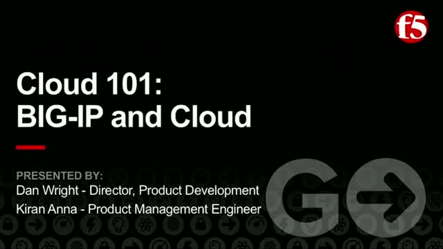 Cloud 101: BIG-IP and Cloud