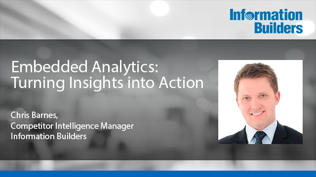 Embedded Analytics: Turning Insights into Action