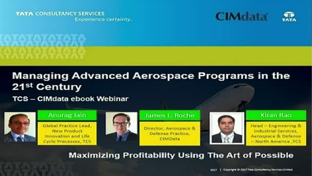 Managing Advanced Aerospace Programs in the 21st Century