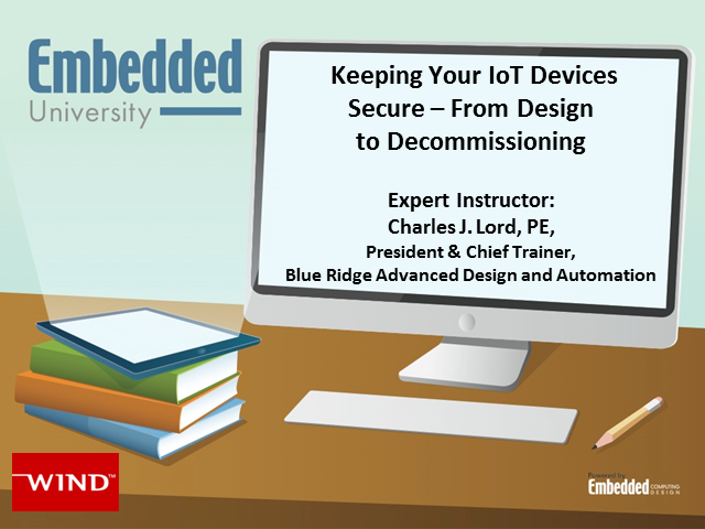 Keeping Your IoT Devices Secure – From Design to Decommissioning