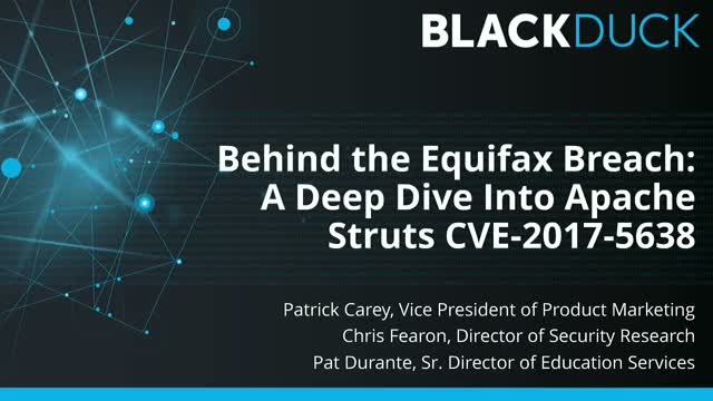 Behind the Equifax Breach: A Deep Dive Into Apache Struts CVE-2017-5638