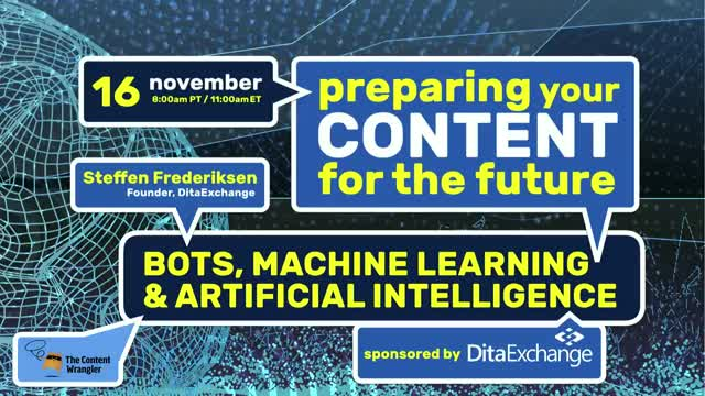 Preparing Your Content for the Future: Bots, Machine Learning and AI