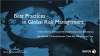 Best Practices in Global Risk Management