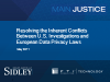 Inherent Conflicts - U.S. Investigations & E.U. Data Privacy Laws