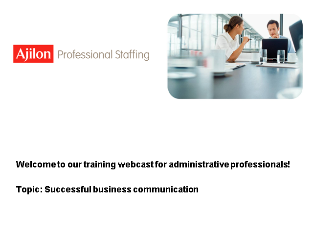 Successful Business Communication for Administrative Professional
