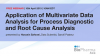 Application of Multivariate Data Analysis for Process Diagnostic and Root Cause