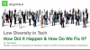 Low Diversity in Tech: How Did It Happen and How Do We Fix It?