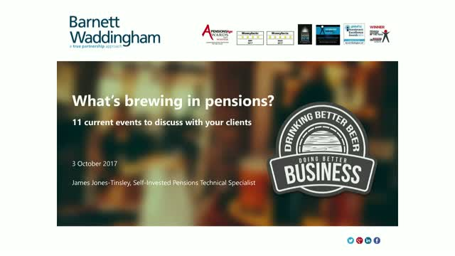 What's Brewing in Pensions