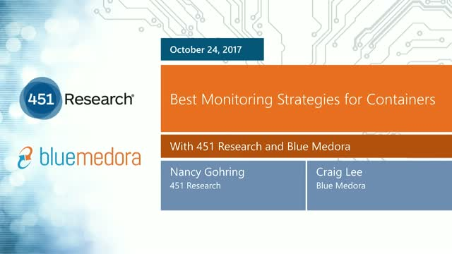 Best Monitoring Strategies for Containers