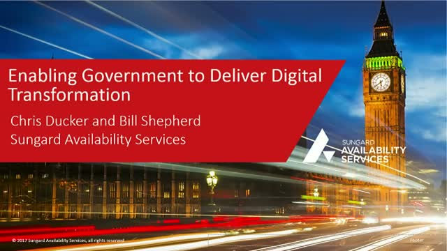 Enabling Government to Deliver Digital Transformation
