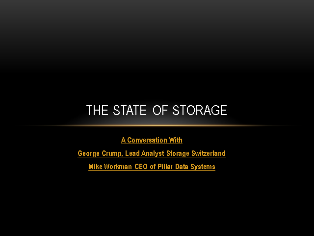 The State of Storage 2011
