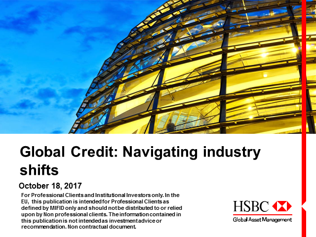 Navigating Industry Shifts in Global Credit