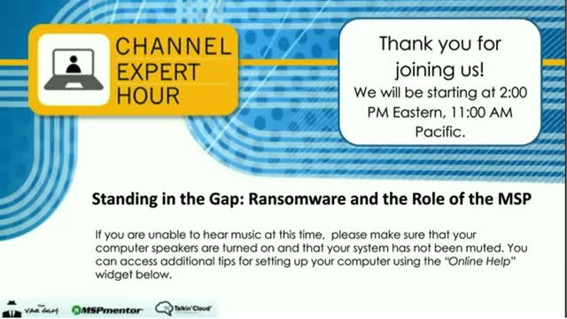 Standing in the Gap: Ransomware and the Role of the MSP