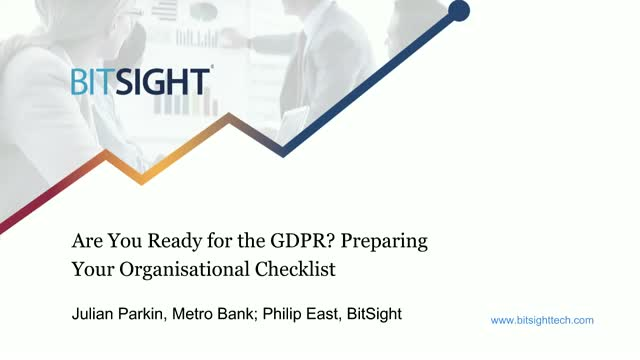 Are You Ready for GDPR? Preparing Your Organisational Checklist