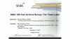 SNIA's New 100-Year Archive Survey: Ten Years Later