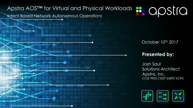 Introducing Apstra AOS™ 2.0 for  Virtual and Physical Workloads