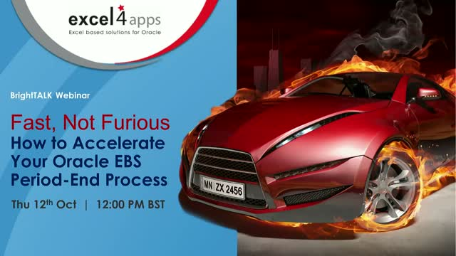 Fast, Not Furious. How to Accelerate Your Oracle EBS Period-End Process.