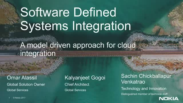 A model driven approach for cloud integration