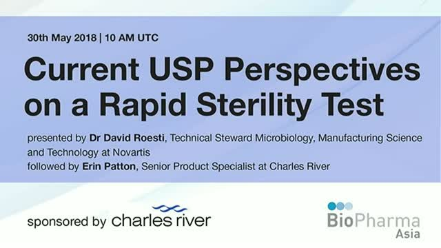 Current USP Perspectives on a Rapid Sterility Test