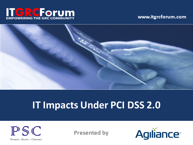 IT Impacts Under PCI DSS 2.0