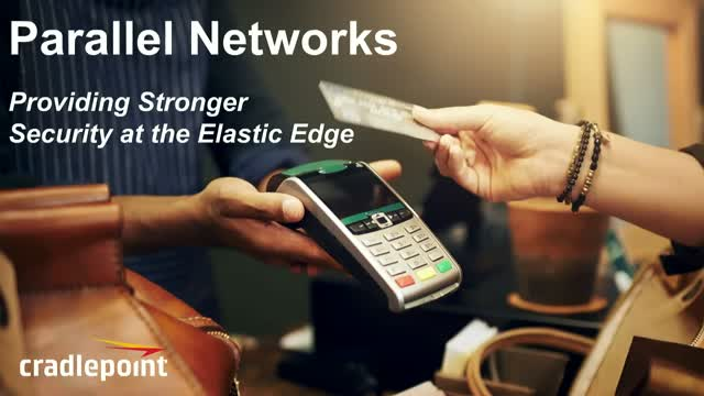 Parallel Networks Provide Stronger Security at the Elastic Edge