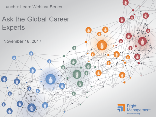 Ask the Global Career Experts!