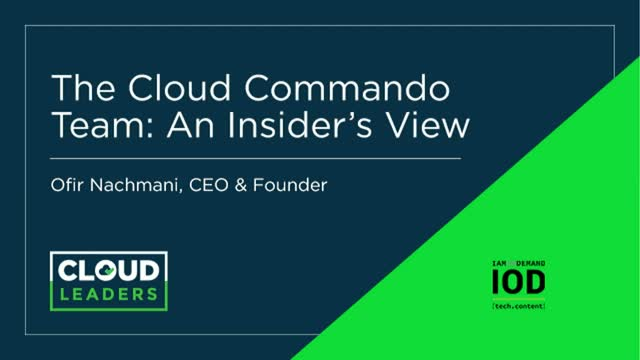 Transformation and Teamwork: An Insider's View of Cloud Leadership