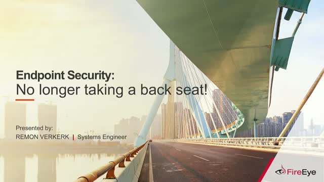 Endpoint Security: No longer taking a back seat!