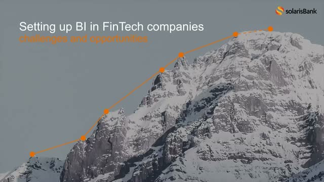 Setting up BI in FinTech companies: challenges and opportunities