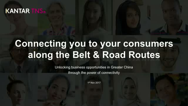 Connecting you to your consumers along the Belt and Road Routes