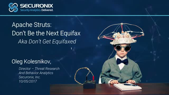 Apache Struts: Don't Be The Next Equifax