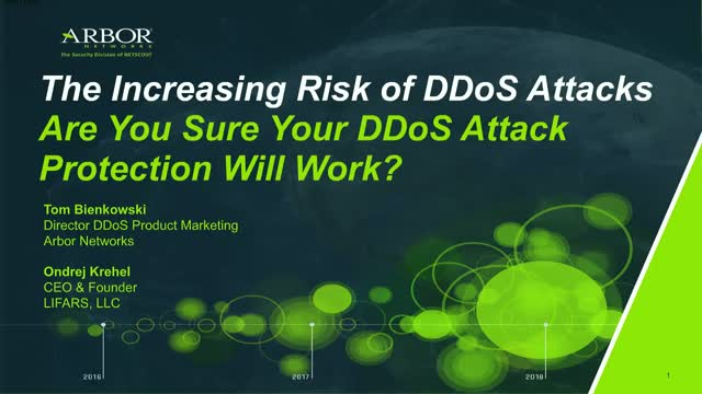 Are You Sure Your DDoS Attack Protection Will Work?