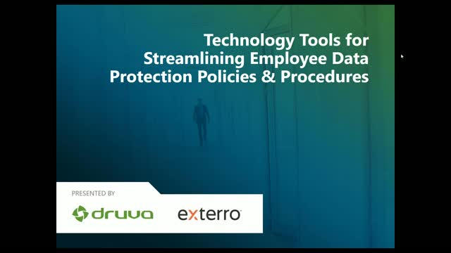 Technology Tools for Streamlining Employee Data Protection Policies & Procedures