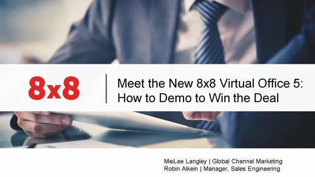 8x8 Live Virtual Office Demo
