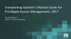 Business Insight: How to Interpret the Gartner Market Guide for PAM