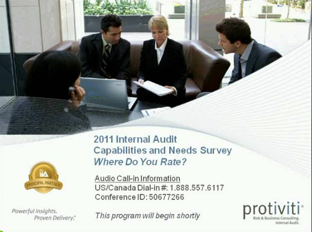 Internal Audit Capabilities and Needs: Where do you rate?