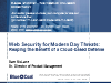 Web Security for Today's Threats:Reaping the Benefit of the Cloud