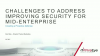 Answers to 5 Cyber Security Challenges for the Midsize Enterprise