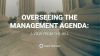 Overseeing the Management Agenda: A View from the Hill
