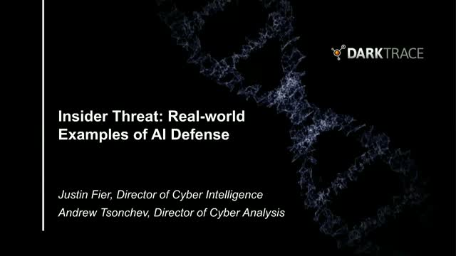Insider Threat: Real-world Examples of AI Defense