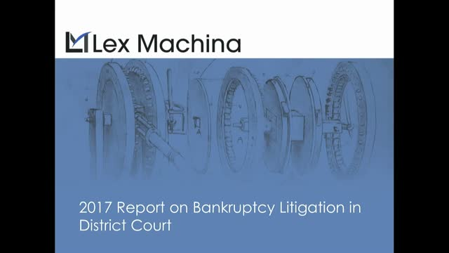 Releasing our new report: Legal Analytics for Bankruptcy Appeals