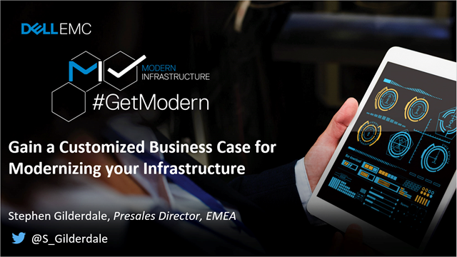 Gain a Customized Business Case for Modernizing your Infrastructure